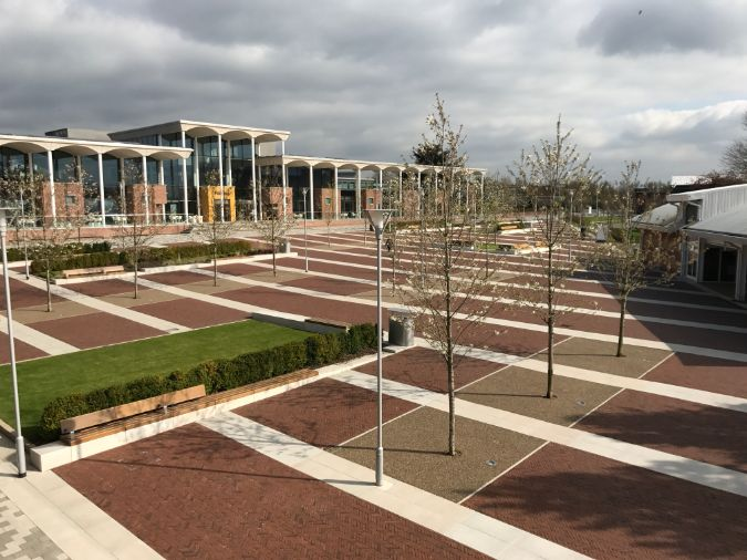 Green-tech revisits Nottingham Trent University two years after supplying tree planting materials