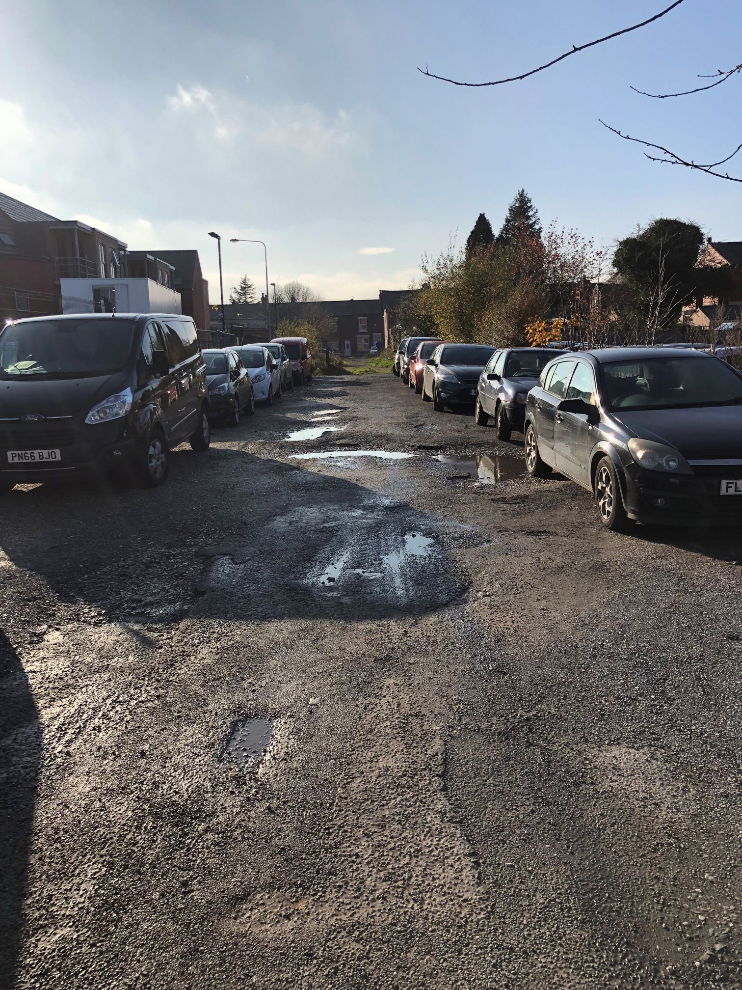 FLP, a brand of Green-tech supply TruckPave® for new car park in Lancashire