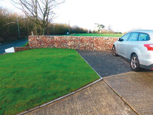 Residential landscapers turn to Green-tech for Gabion wall materials