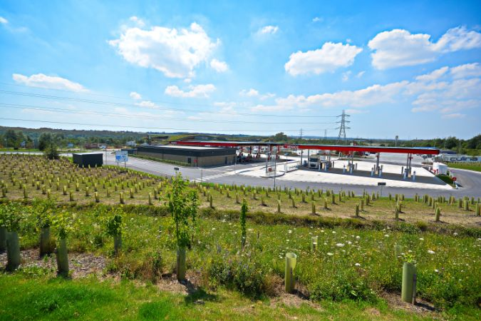 Green-tech - a major supplier to new Leeds Skelton Lake M1 Services