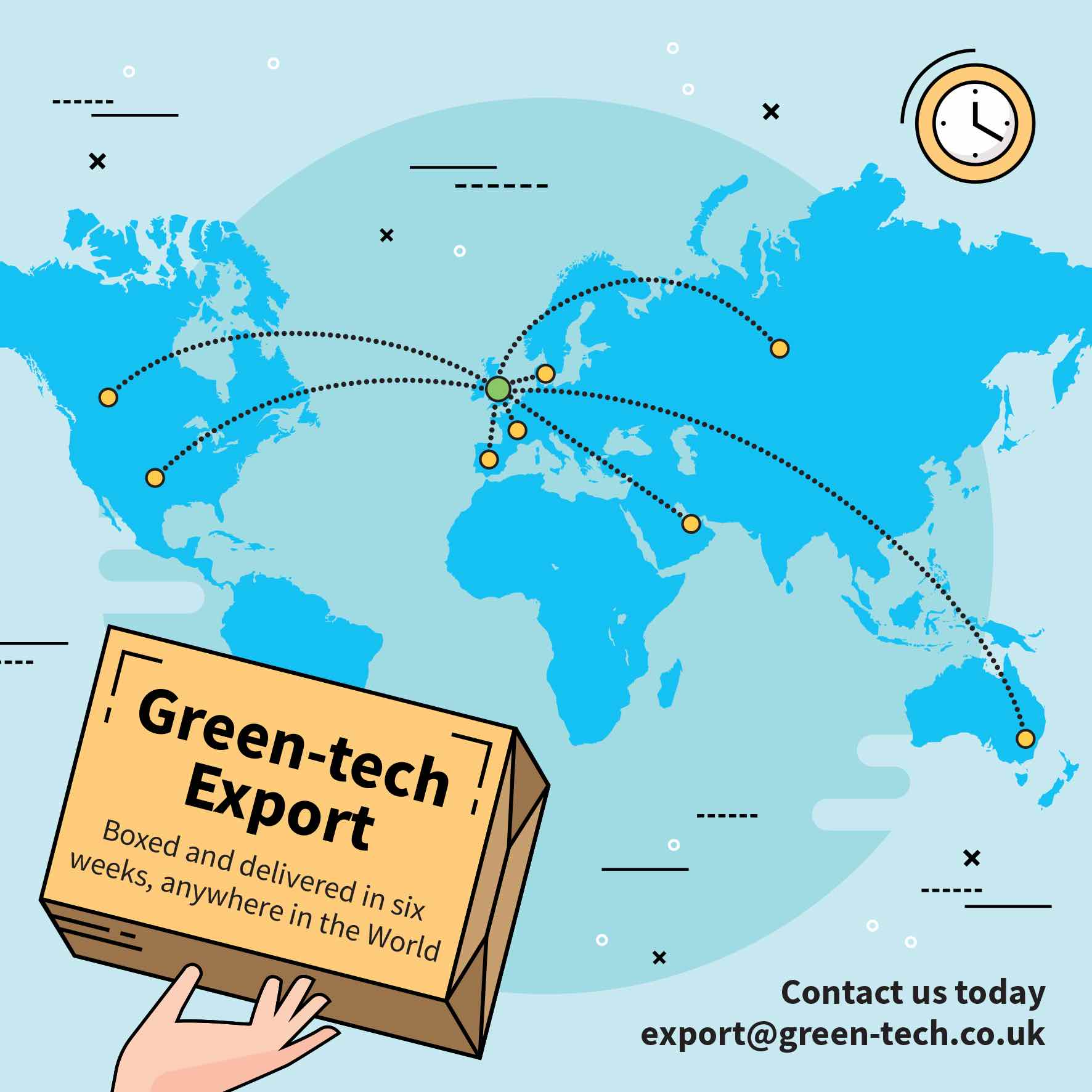 Green-tech Export Around The World