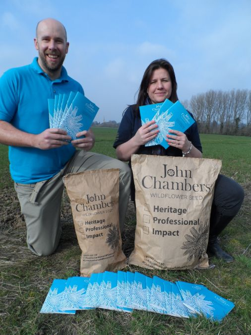 Second edition of the John Chambers Wildflower Seed Selector launched.