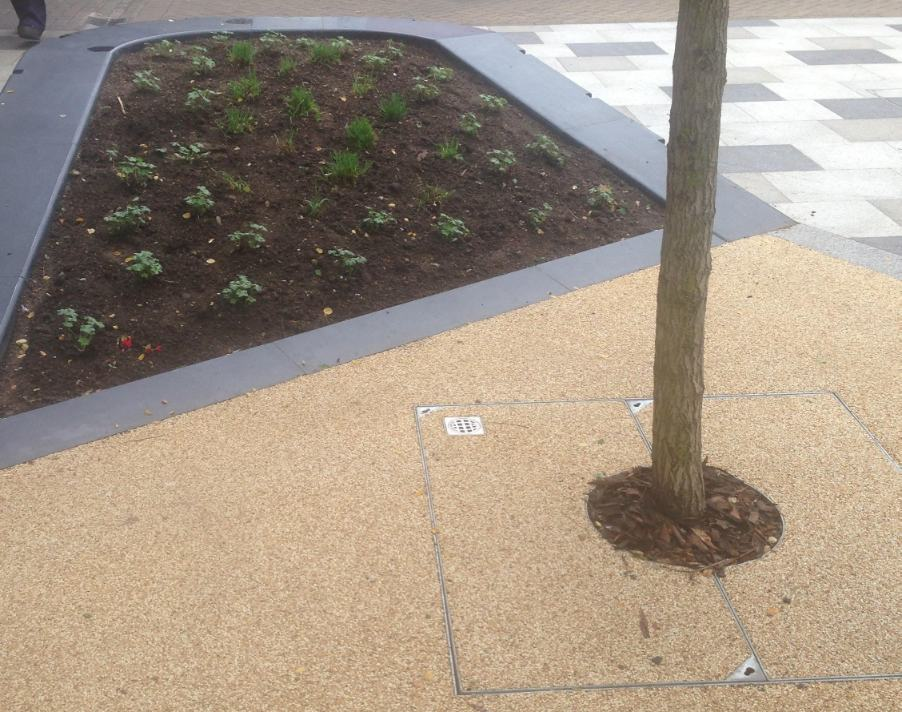 Green-tech supplies landscaping materials for new-look Stevenage Town Centre