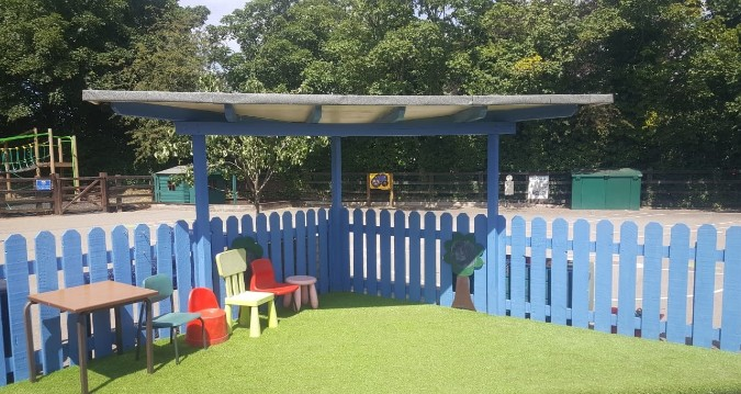 Green-tech help create luxurious outside learning space at Bedale C of E Primary School