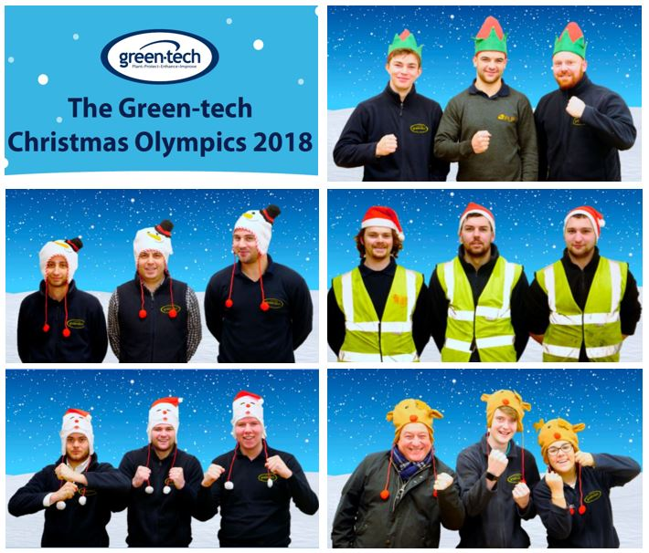 ​Green-tech Hosts Christmas Olympics 2018
