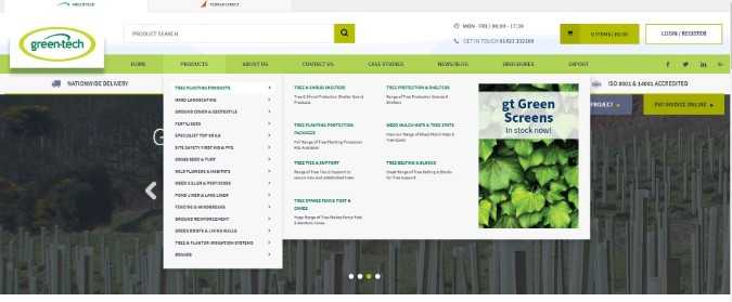 Green-tech launches new state-of-the-art Website