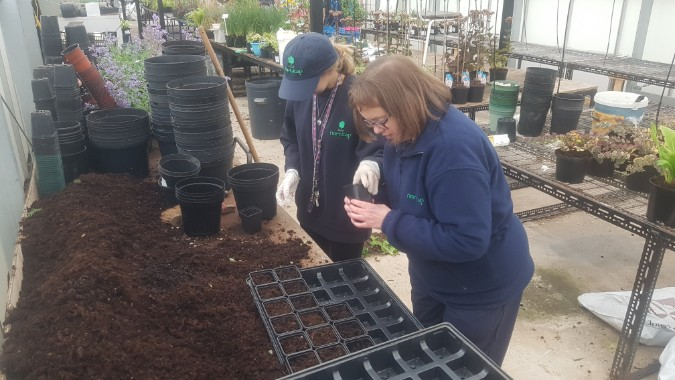Green-tech Gives Pots of Support to Yorkshire Charity Horticap