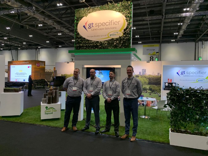 Green-tech unveils their largest ever stand at Futurebuild 2019