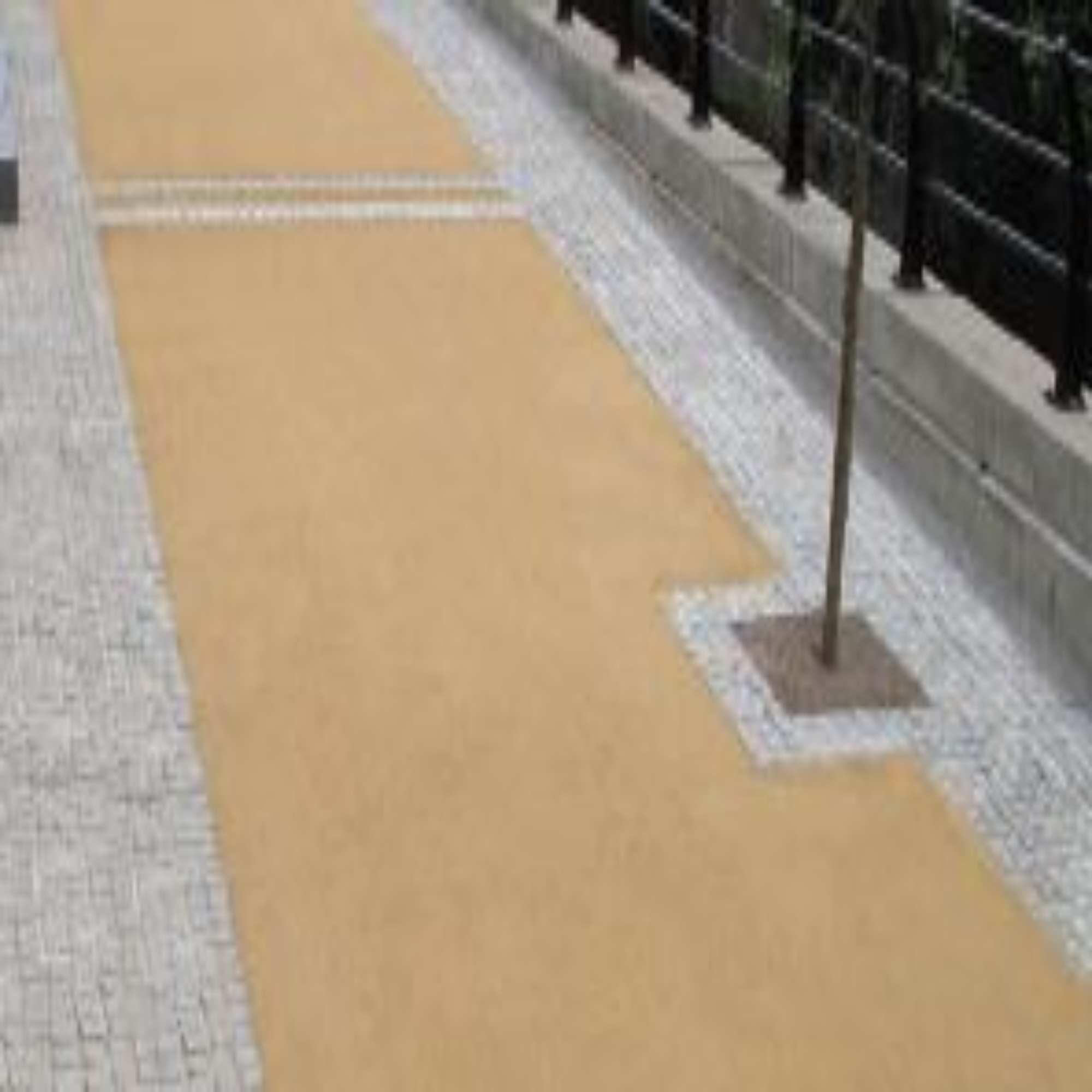 Self Binding Gravel Gold Path