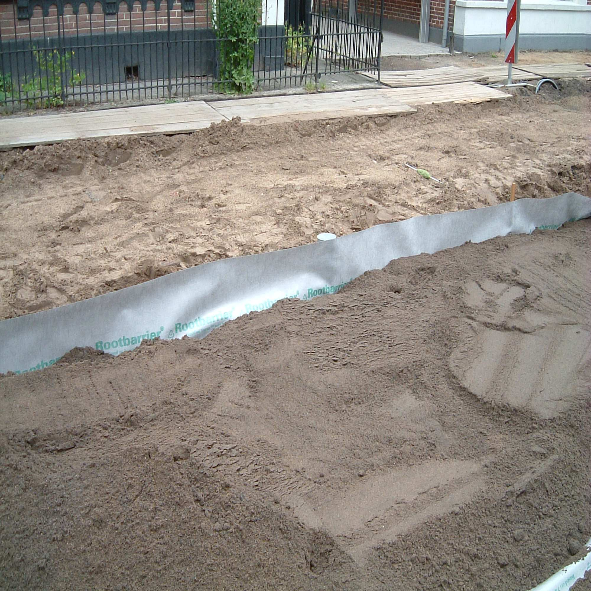 Root Barrier 360 Tree Pit Root Barriers Green Tech